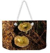 Two Mushrooms Weekender Tote Bag