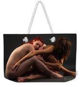 Christiana And Ciara - 4 Weekender Tote Bag
