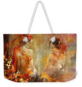 Two Nudes  Weekender Tote Bag
