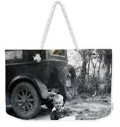 Two Old Cars Weekender Tote Bag