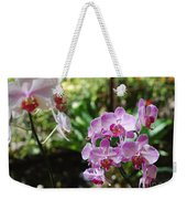 Two Orchid Branches Number One Weekender Tote Bag