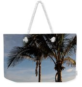 Two Palms And The Gulf Of Mexico Weekender Tote Bag