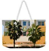 Two Palms Art Deco Building Weekender Tote Bag