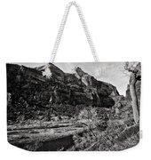 Two Peaks - Bw Weekender Tote Bag
