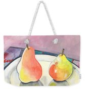 Two Pears Weekender Tote Bag