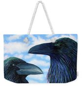 Two Ravens Weekender Tote Bag