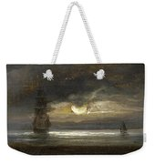 Two Sailing Boats By Moonlight Weekender Tote Bag