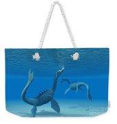 Two Sea Dragons Weekender Tote Bag