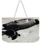 Two Seals Weekender Tote Bag