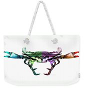 Two Sides - Duality Crab Art Weekender Tote Bag