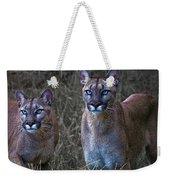 Two Sisters Weekender Tote Bag