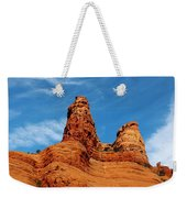 Two Sisters Formation Sedona Az Hbn2 Weekender Tote Bag