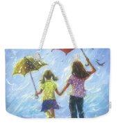 Two Sisters Rain Blond Little Sister Weekender Tote Bag