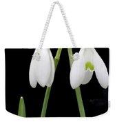Two Snow Drops Weekender Tote Bag