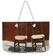 Two Spainisch Chairs  Weekender Tote Bag