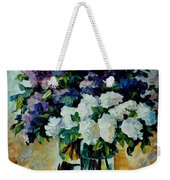 Two Spring Colors  Weekender Tote Bag