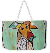 Two Star Greyhound Weekender Tote Bag