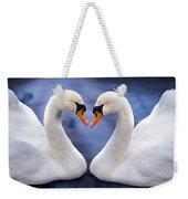 Two Swans Weekender Tote Bag