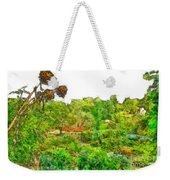 Two Thistles In The Garden Of The Simple Weekender Tote Bag