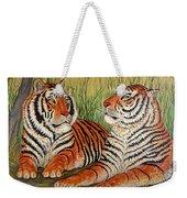 Two Tigers Weekender Tote Bag