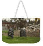 Two Tires Weekender Tote Bag
