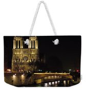 Two Towers Of Notre Dame Weekender Tote Bag