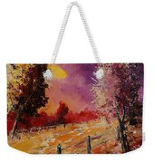 Two Trees Waiting For The Storm Weekender Tote Bag