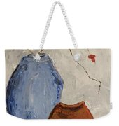 Two Vases Still Life Weekender Tote Bag