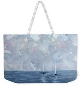 Two White Sails Weekender Tote Bag