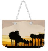 Two With The Palms Weekender Tote Bag