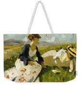Two Women On The Hillside 1906 Weekender Tote Bag