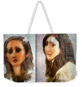 Two Women Weekender Tote Bag