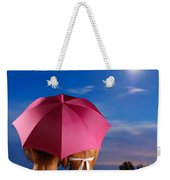 Two Women Relaxing On A Shore Weekender Tote Bag