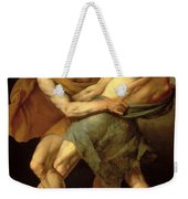 Two Wrestlers Weekender Tote Bag by Cesare Francazano