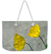 Two Yellow Blossoms Weekender Tote Bag
