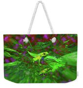 Two Yellow Frogs Weekender Tote Bag