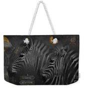 Two Zebras Weekender Tote Bag
