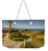 Twr Mawr Lighthouse Weekender Tote Bag