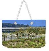 Tybee Island Inlet Weekender Tote Bag
