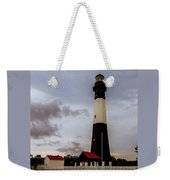 Tybee Island Lighthouse - Square Format Weekender Tote Bag
