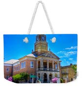 Tyler County Courthouse Weekender Tote Bag