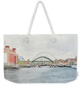 Tyne Bridges And Quayside Weekender Tote Bag