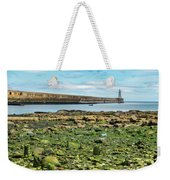 Tynemouth Pier Landscape In Color 2 Weekender Tote Bag