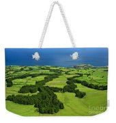 Typical Azores Islands Landscape Weekender Tote Bag
