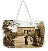 Typical House India Rajasthani Village 1e Weekender Tote Bag