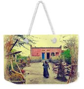 Typical House India Rajasthani Village 1j Weekender Tote Bag