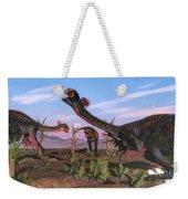Tyrannosaurus Rex Attacking Weekender Tote Bag