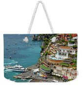 Tyrrhenian Sea Amalfi Coast Weekender Tote Bag