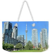 Toronto Towers From The Park Weekender Tote Bag