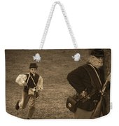U. S. Civil War Messenger Boy On The Run Weekender Tote Bag